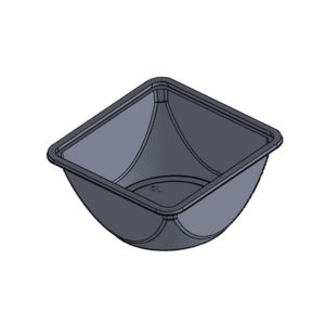 Salad Trays with Separate Lid