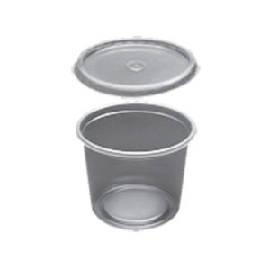 Round Containers and Lids